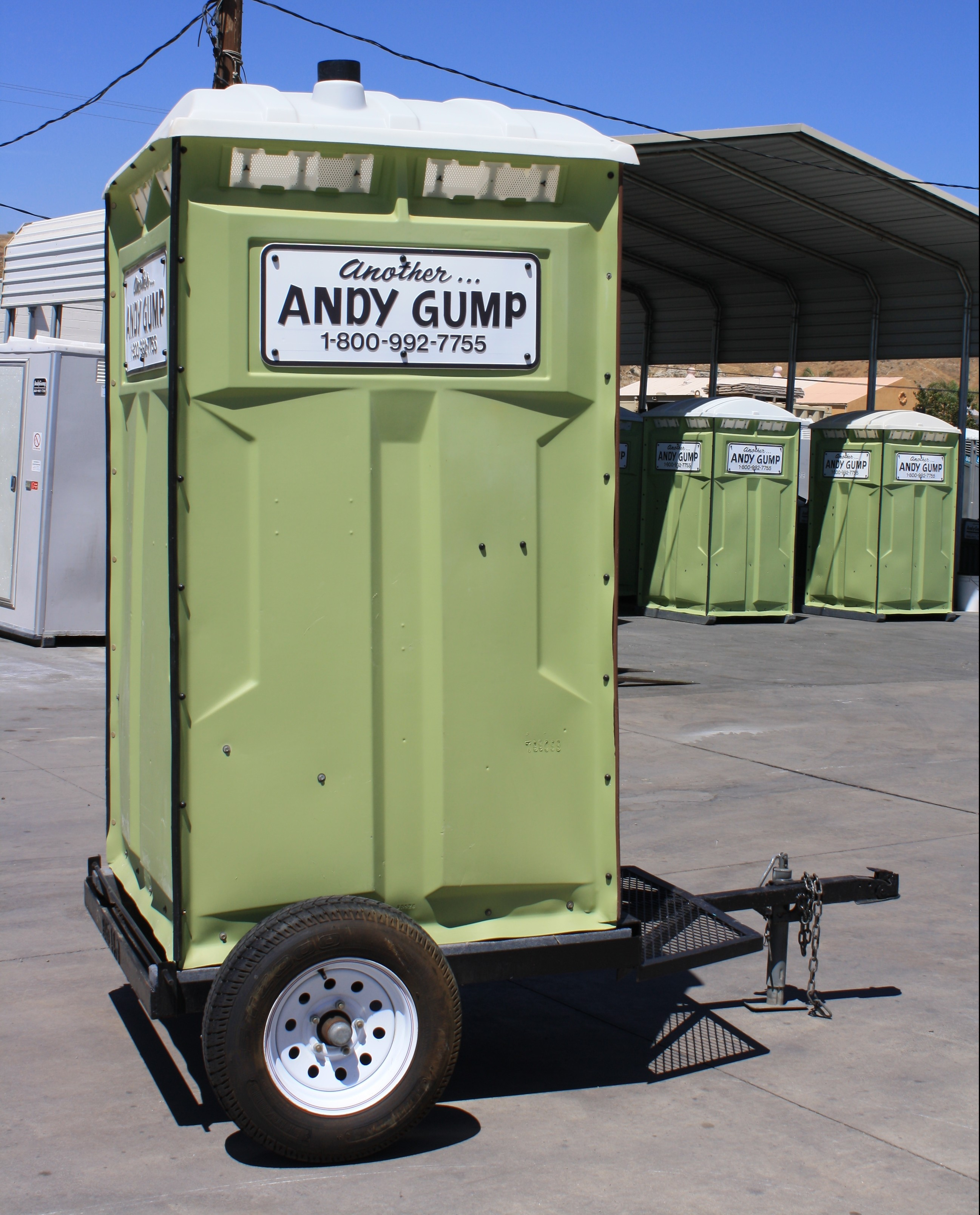 Andy Gump Portable Toilets
