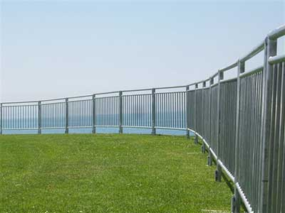 Temporary Fence Andy Gump