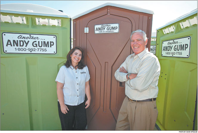 Amazing Nancy Gump Taking Over Temporary Site Services Company