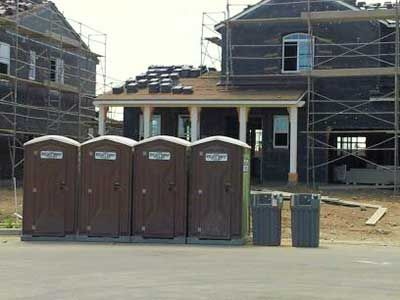 Construction Temporary Restrooms