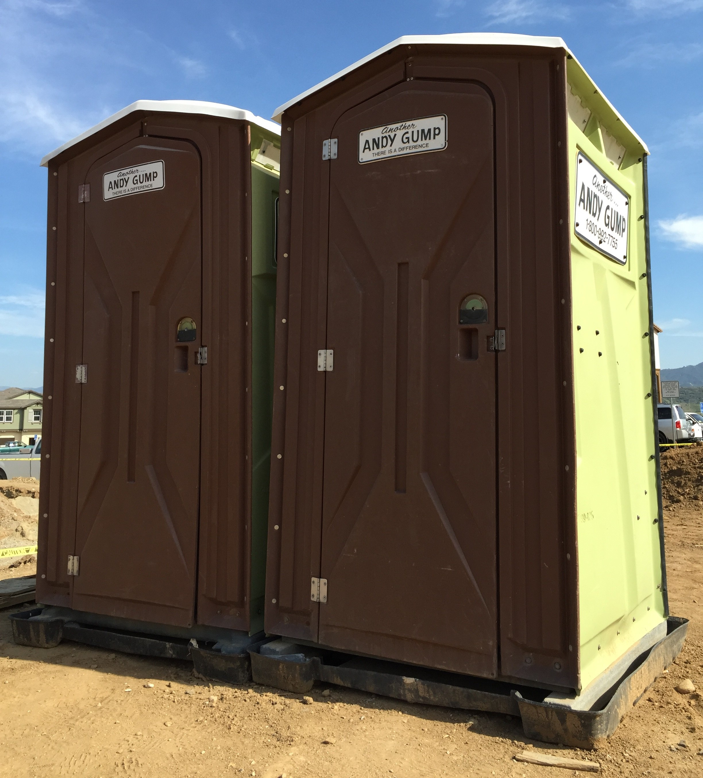 Superb Construction Portable Restroom