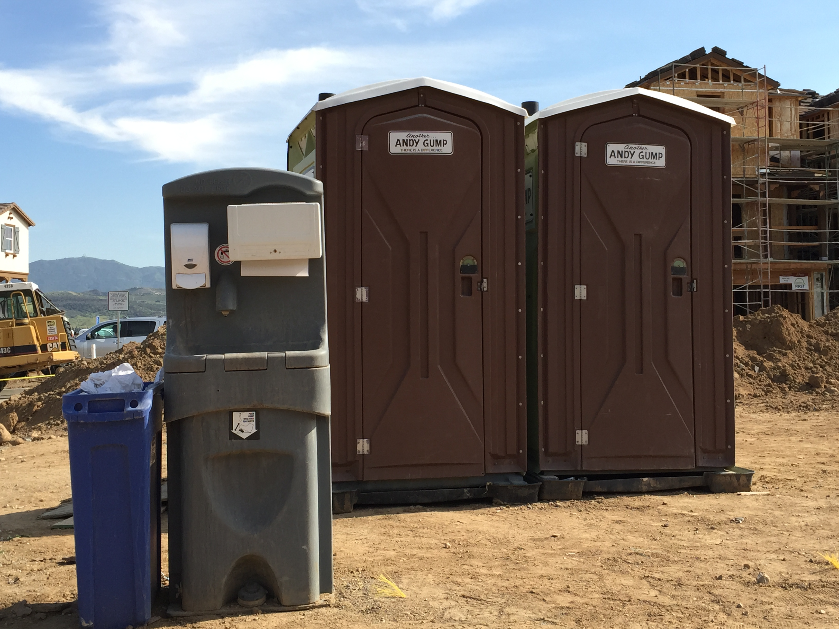 Attractive Construction Portable Restroom