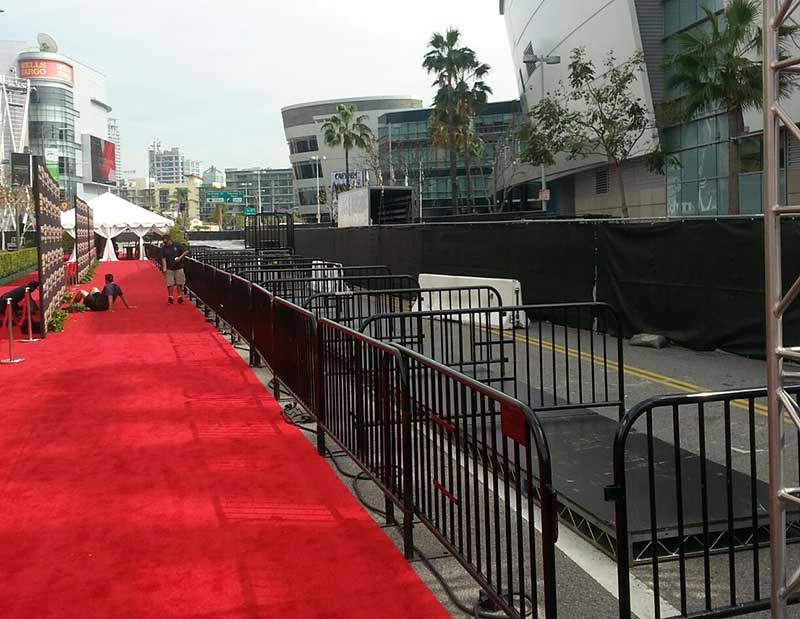 Special Event Red Carpet Fence