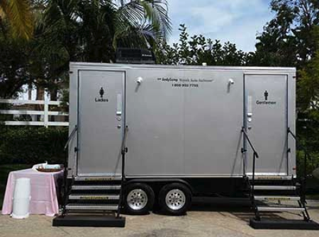 Special Event Restroom Trailers