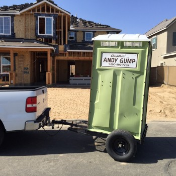 Portable Restroom Trailer · Andy Gump Restroom Trailer