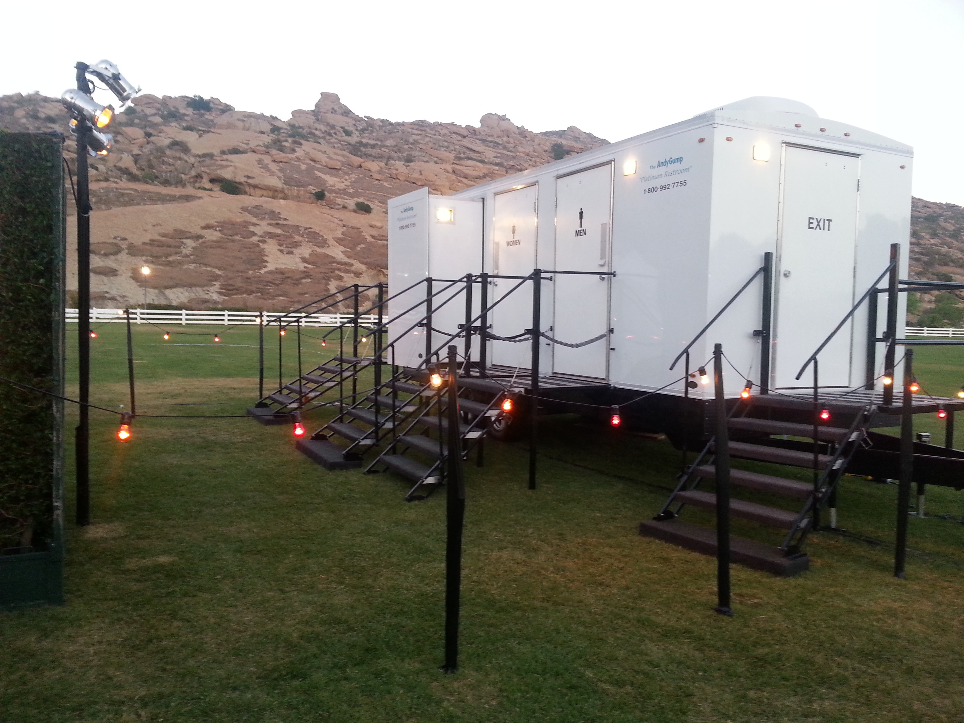 Special Event Suite Restroom Trailer