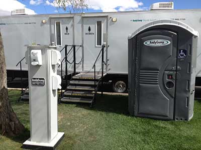... Special Event Restroom Trailers